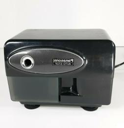Panasonic KP-310 Electric Pencil Sharpener Auto-Stop Black,