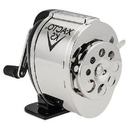 KS Manual Classroom Pencil Sharpener, Counter/Wall-Mount, Bl