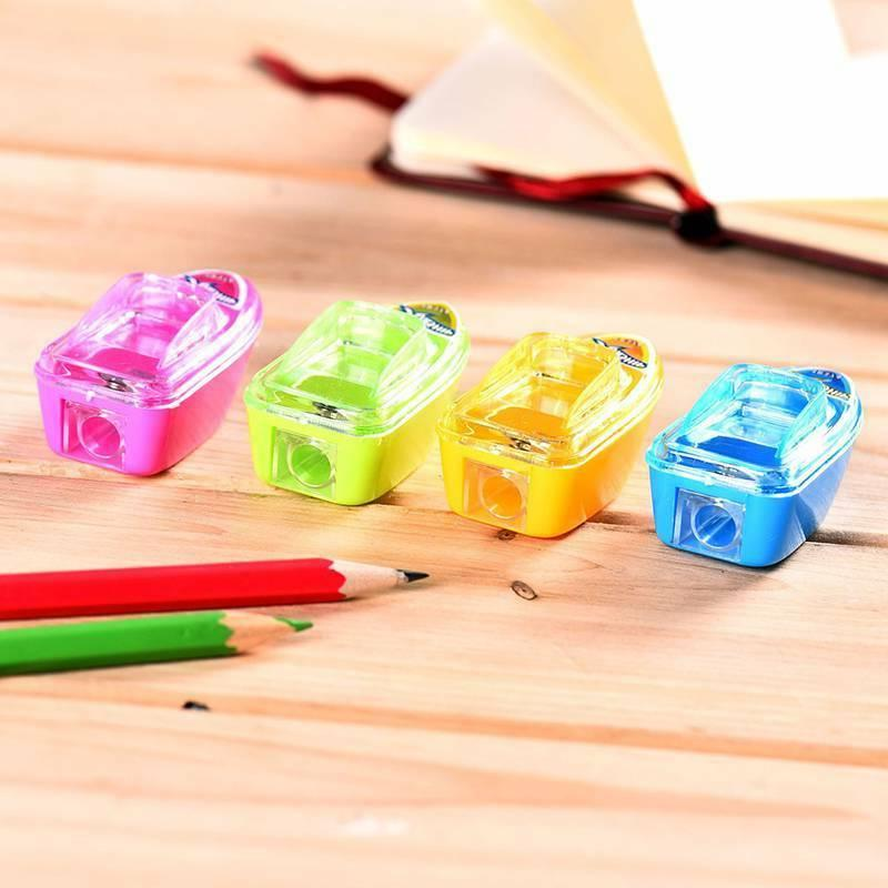 10Pcs Student Kids Shape Office Stationery
