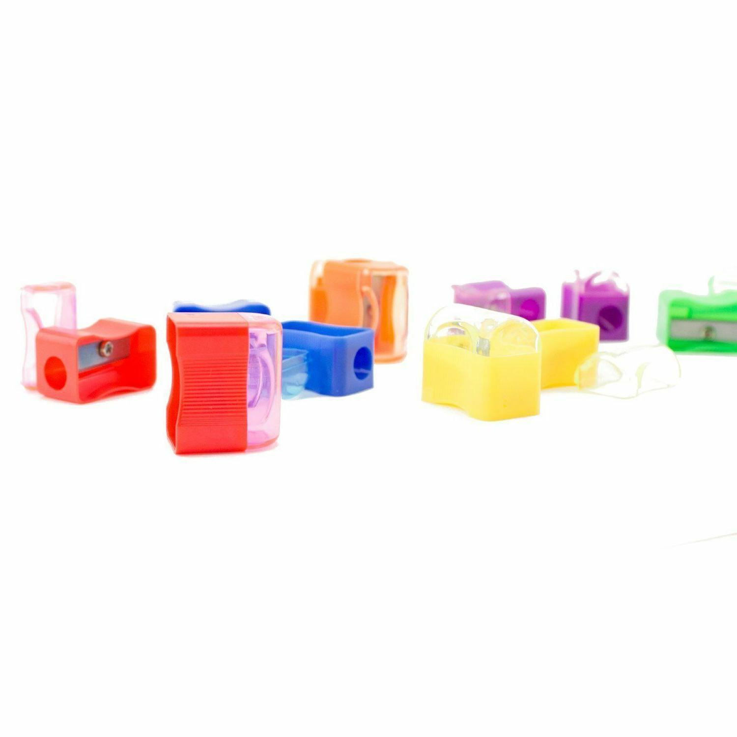 144pcs Miniature School Pencil Sharpener Supplies LOT