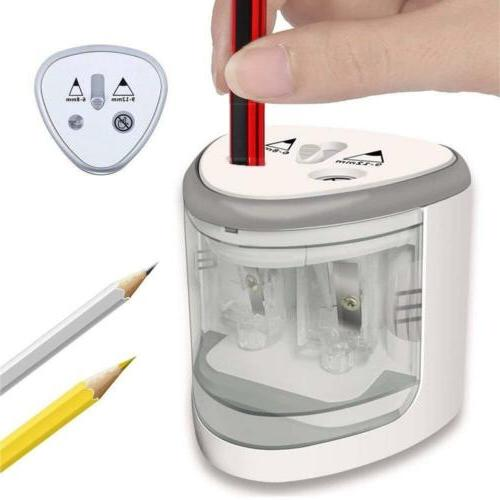 automatic electric pencil sharpener cutter for kids