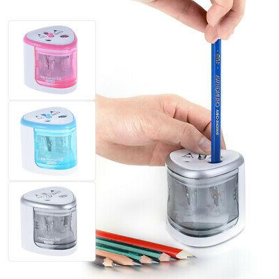 Electric Auto Pencil Battery Quickly Safe Office Tool