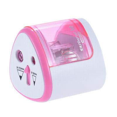 Electric Sharpener Battery Operated Safe Office Z0T8