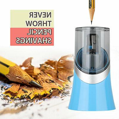 Automatic Pencil Sharpener Home Office Classroom Battery Operate