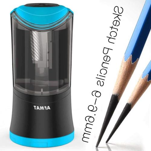 Automatic Long Point Pencil Sharpener for Art Pencils, 6-9.6