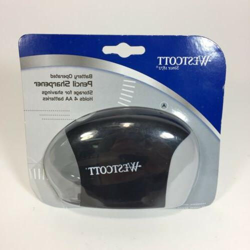 battery operated pencil sharpener black brand new