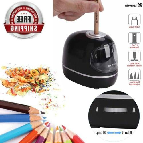 battery operated portable automatic electric pencil sharpene
