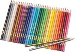 Bulk Buy: Prang Prang Thick Core Colored Pencil Set 36/Pkg