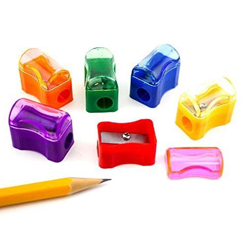 bulk plastic pencil sharpener assortment
