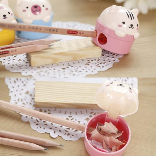 Cute Bear for Pencils Student School Office Stationery