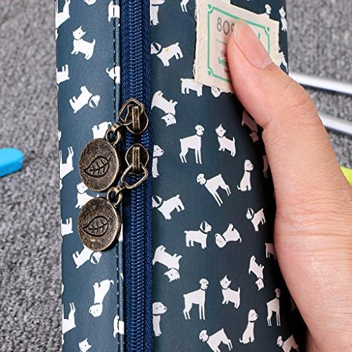 BTSKY Cute Pencil Case - Capacity Pencil Multifunction Cosmetic Perfect Holder Pencils and