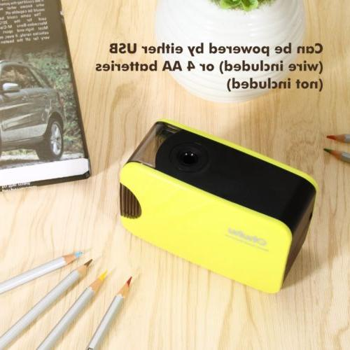 Desktop Electric Pencil Sharpener Automatic Battery-powered