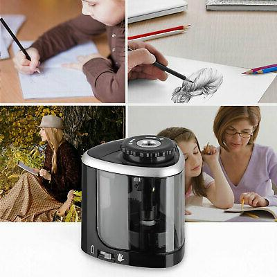 Electric Pencil Sharpener Automatic Touch Office Classroom Small