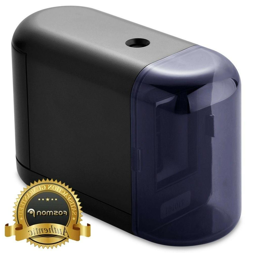 Fosmon Electric and Operated Pencil Sharpener for Home, and
