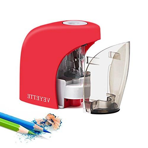 Electrical Automatic for NO.2 Pencils and Colored Pencils, Pencil Sharpener For Home Office, Included,