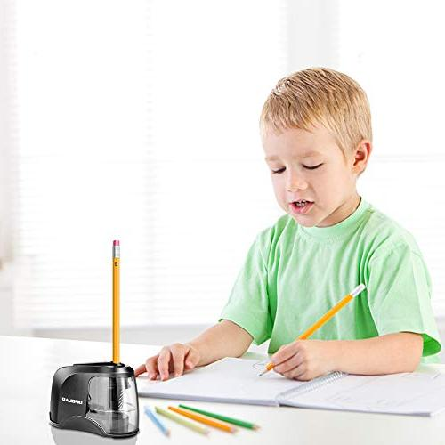 OPOLAR Electric USB or or Batteries Operated for No. and Colored Pencils Blade, for Artist