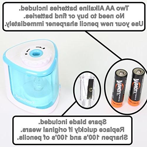 Electric Pencil Batteries Included, best for and No. Pencils, for Home Office School