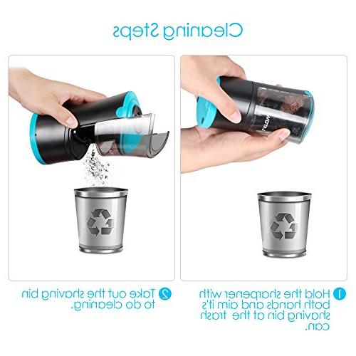 Electric Sharpener with Durable Helical Blade Fast Sharpen, Rechargeable for Suitable for Home