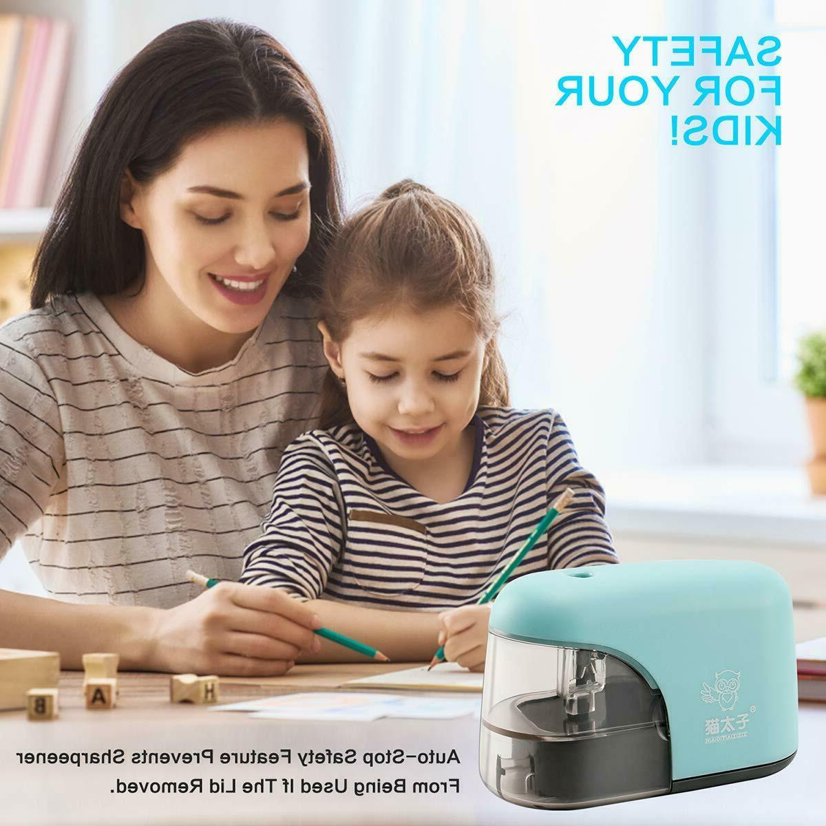 Electric Pencil & Safety Electric Pencil Sharpener for