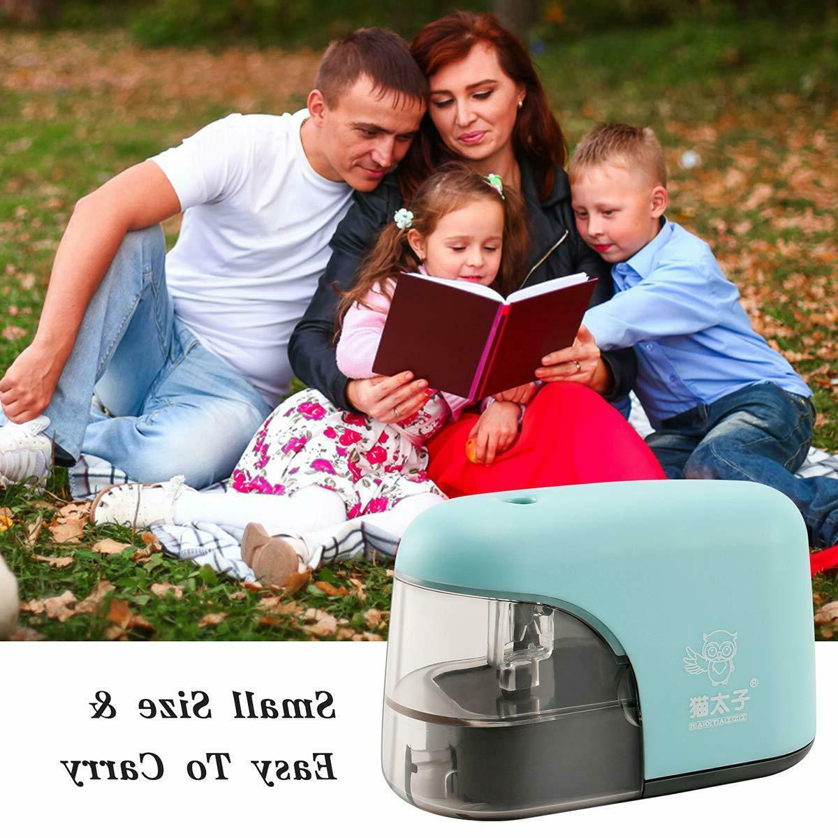 Electric Pencil Sharpener,Auto & Safety Sharpener for