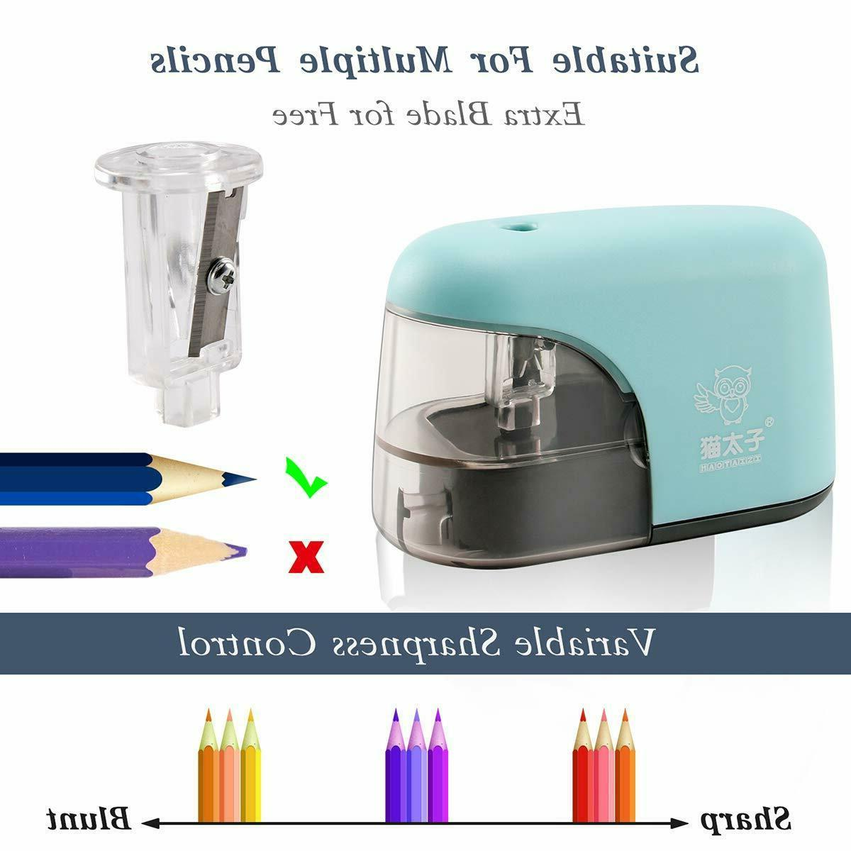 Electric Sharpener,Auto Safety Electric Pencil for