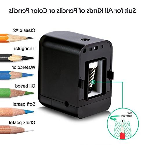 Artify Electric Pencil Stop-Battery Or Operated-Great Types of Pencils Durability-Kids Friendly-Ideal Teachers,