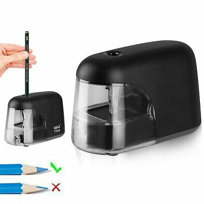 electric pencil sharpener automatic battery operated