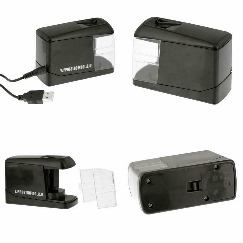 electric pencil sharpener automatic battery operated powered