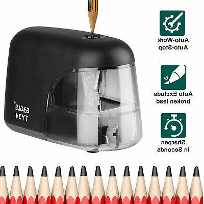 electric pencil sharpener automatic battery power operated