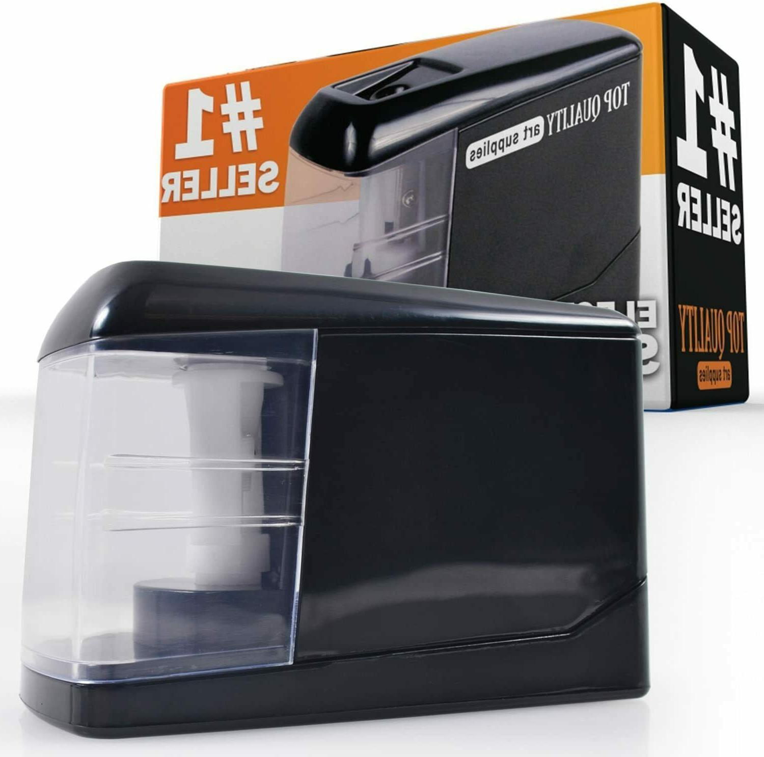 electric pencil sharpener automatic battery