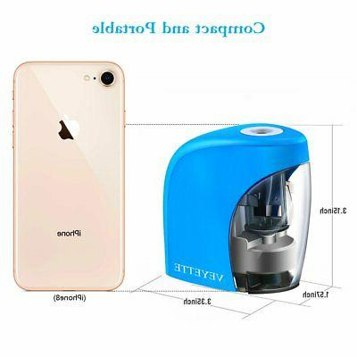 Electric Pencil Sharpener Touch Switch Home School Office
