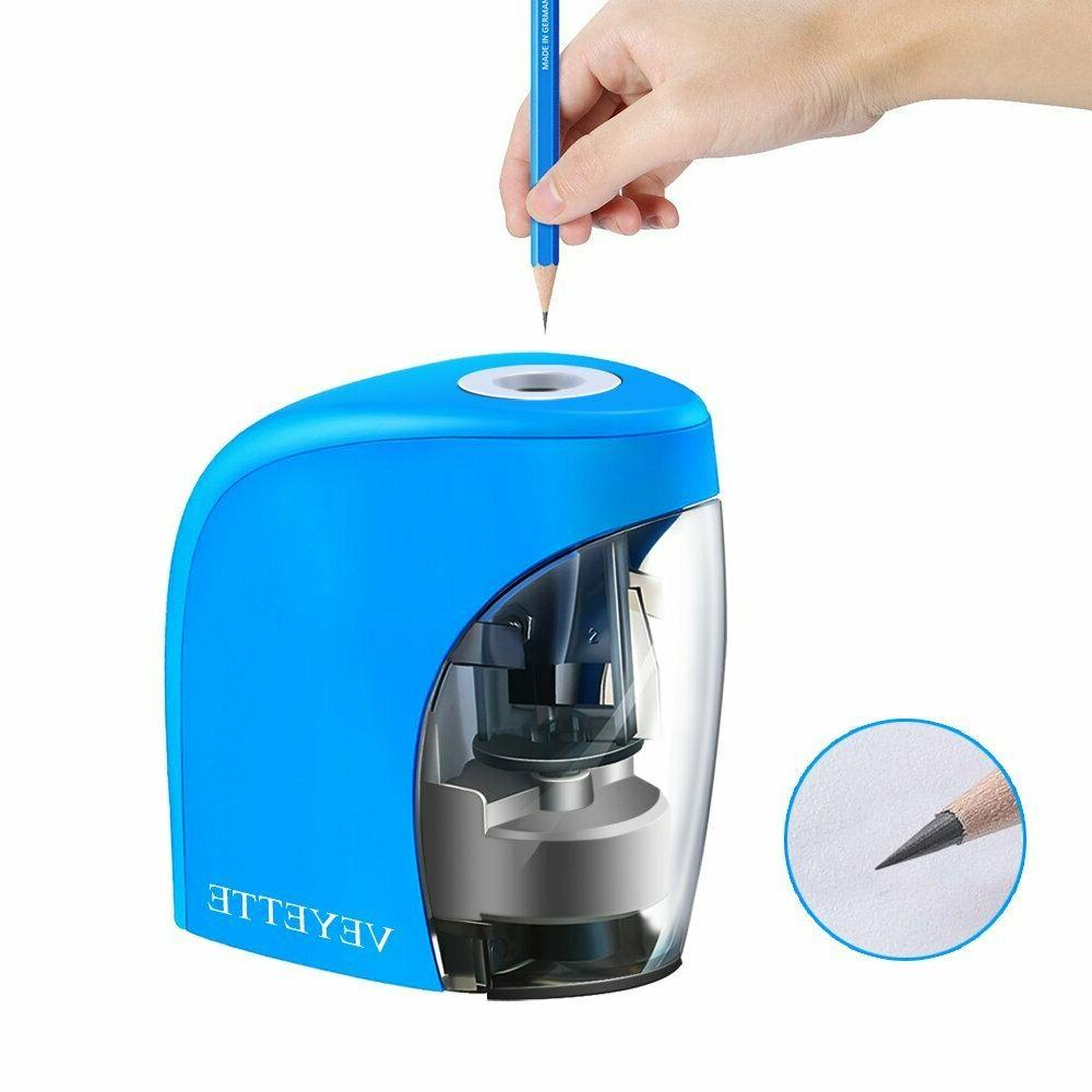 Electric Pencil Sharpener Automatic Touch Switch Office Home Class
