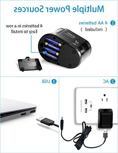 Electric Prime-Portable Battery for No. 2 And Pencils AA batteries
