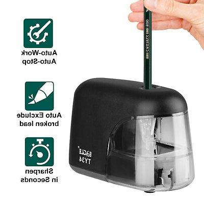 electric pencil sharpener battery operated automatic sharpen