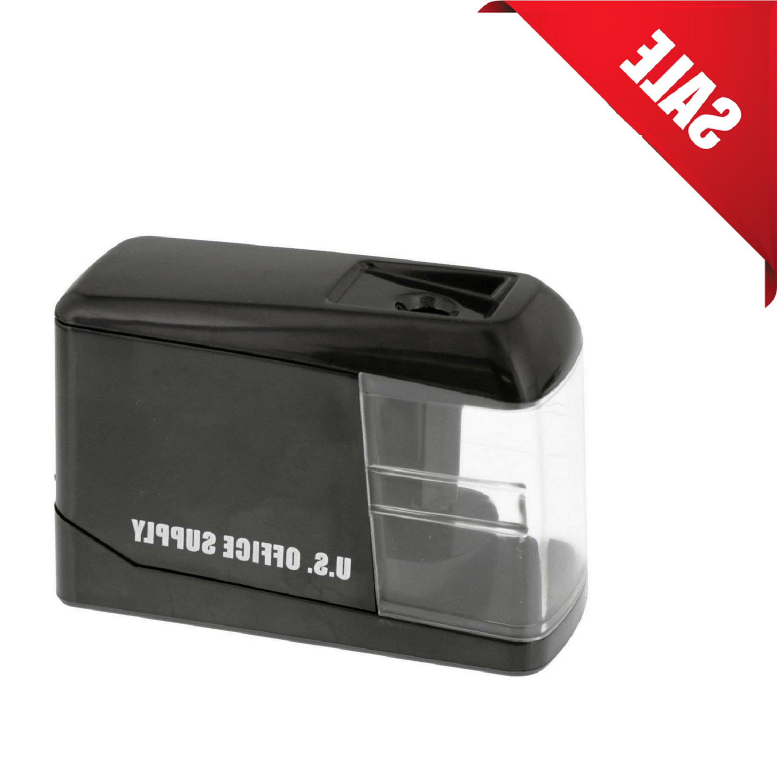 electric pencil sharpener battery operated automatic touch