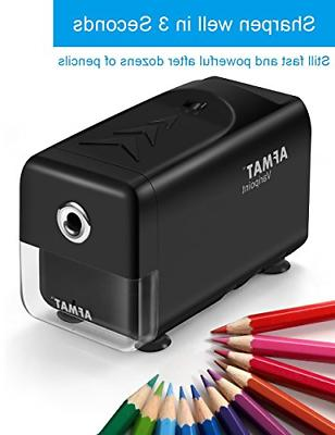 AFMAT Electric Pencil Sharpener Heavy Duty, Pencil for