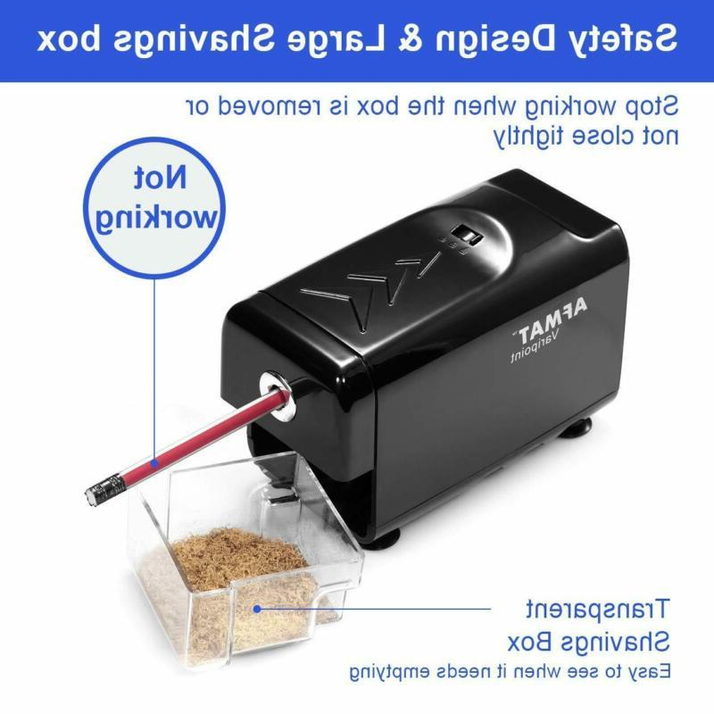 Electric Pencil Sharpener Heavy Duty, AFMAT for