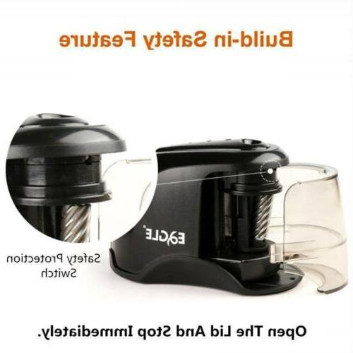 Electric Pencil Sharpener Duty Helical Steel Blade For Pencils