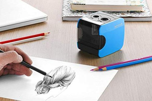 SMARTRO Pencil Sharpener, Best Operated for Colored