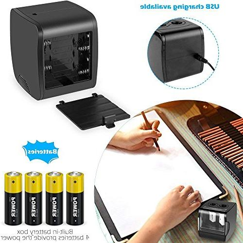 Electric Pencil Sharpener, USB Operated Duty for kids, Office