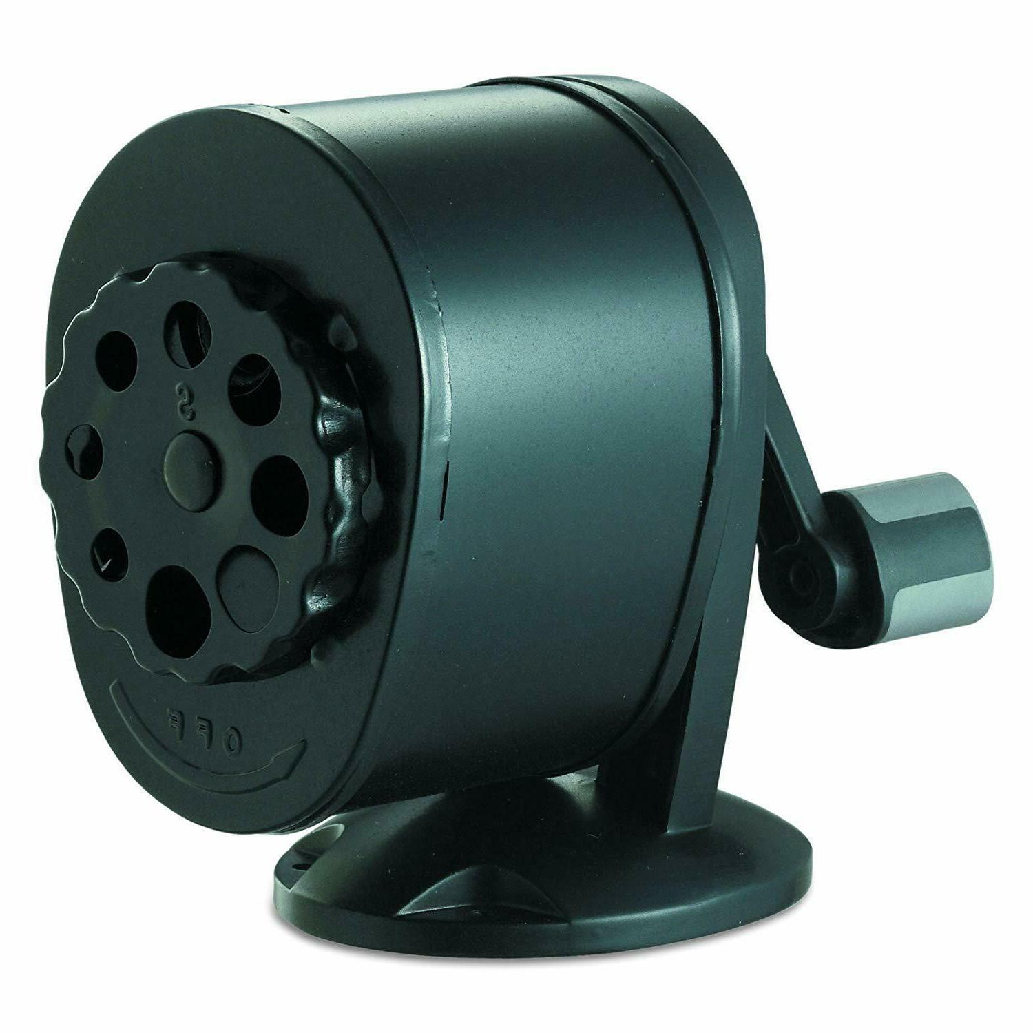 Bostitch Pencil Sharpener, Black NEW +