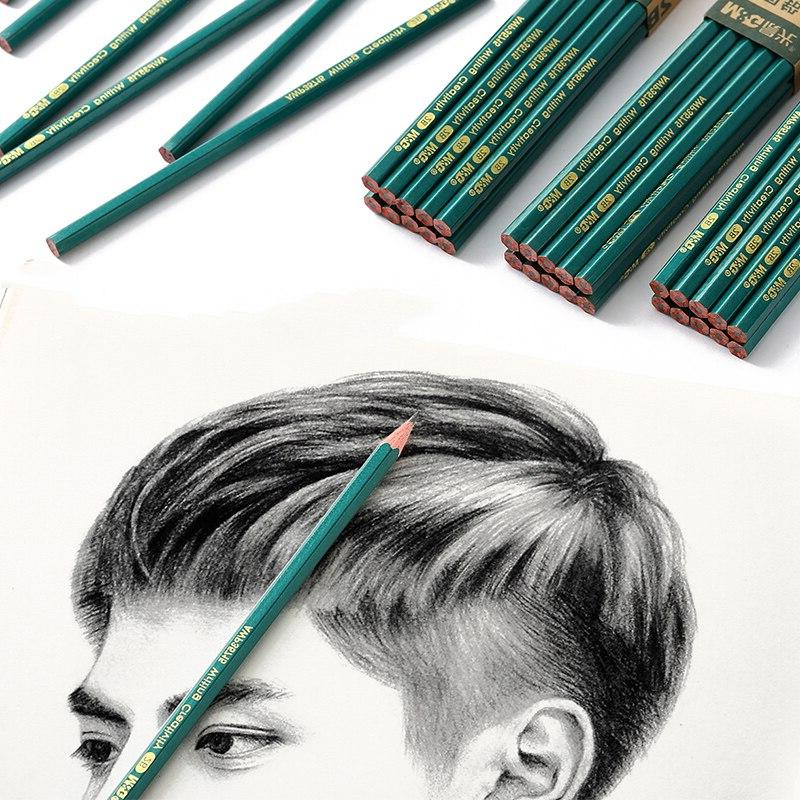 <font><b>20</b></font> Pcs 2H School <font><b>Pencils</b></font> For Kids Art