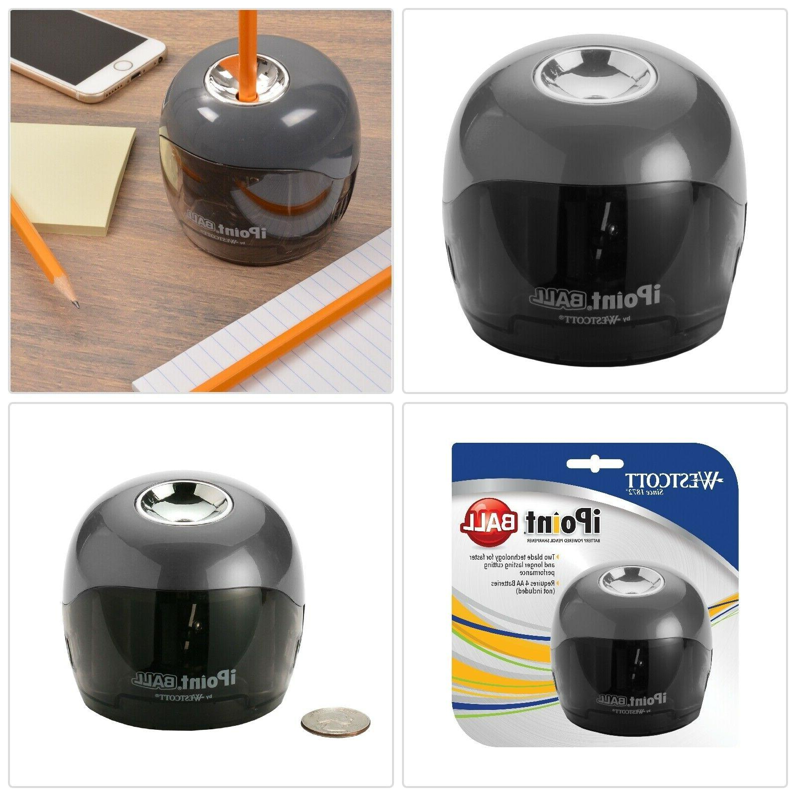 ipoint ball pencil sharpener durable compact battery