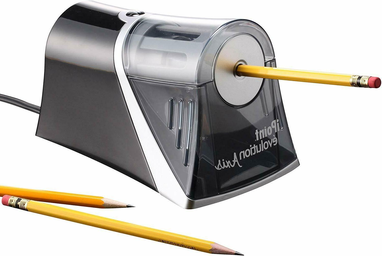 Westcott Evolution Axis Electric Heavy Pencil Sharpener NEW