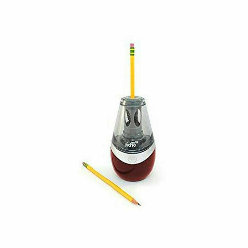 Westcott iPoint Pencil Sharpener + 2 Replacement Blades New
