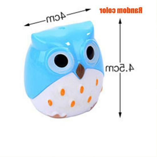Kawaii Owl Shape Pencil Sharpener Stationery Supplies Gift