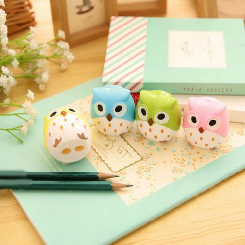 Kawaii Owl Sharpener School Student Office Stationery Supplies Gift