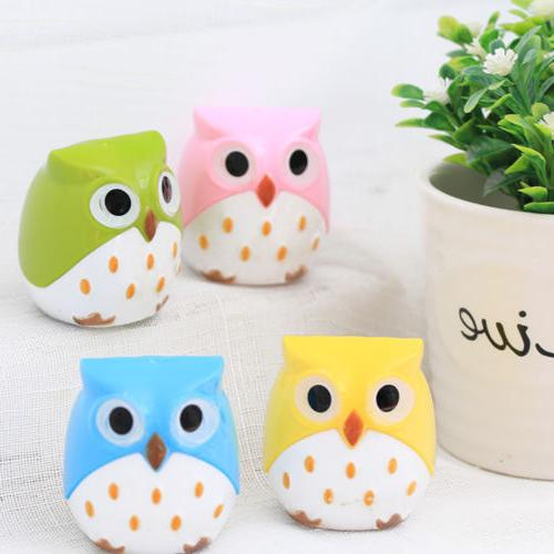 Cute Plastic Pencil Sharpener Stationery Kids School Supplies