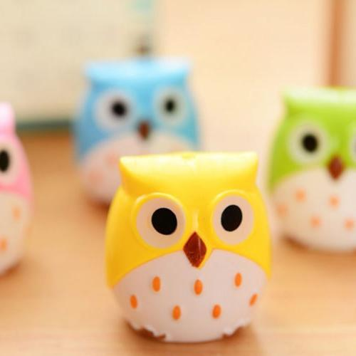 Cute Plastic Sharpener Cutter Stationery School Office Supplies