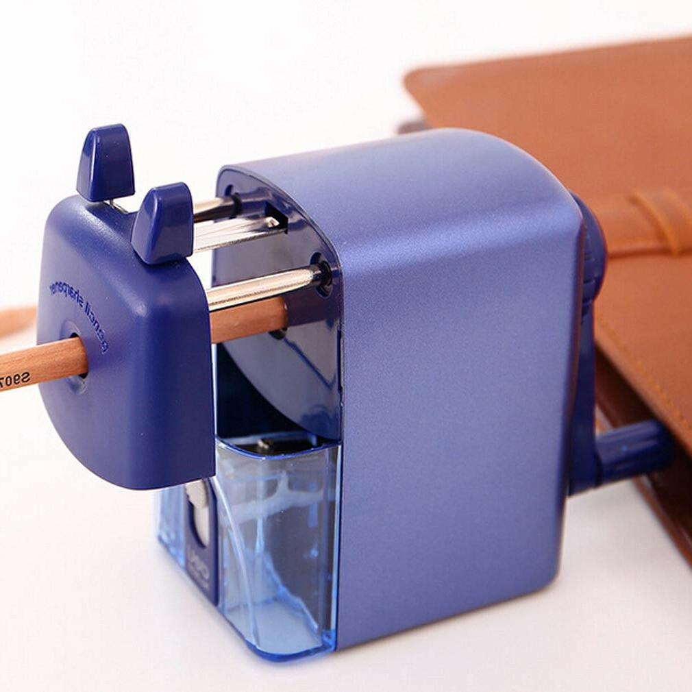 Kids Pencil Sharpener Steel School Stationery